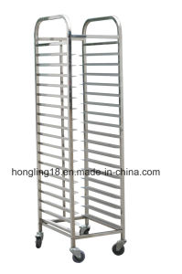 Commercial Stainless Steel Toast Trolley/Bread Trolley for Cake Mould Pan pictures & photos