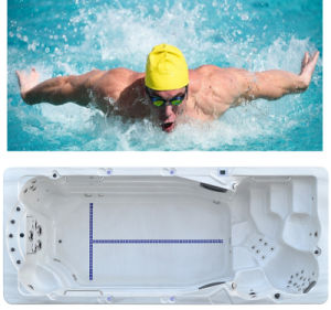 Humanized Design Big Swimming Pool SPA Whirlpool pictures & photos
