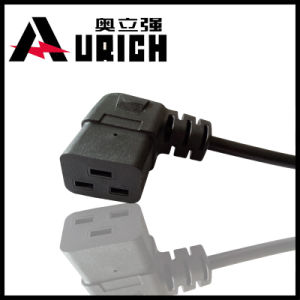 U. S. & Canada 3pins Right Angle Connector