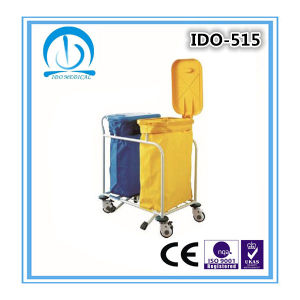 Ce ISO Approved Hospital Laundry Trolley pictures & photos