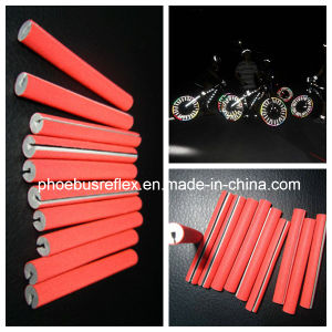 Red Color Reflective Bicycle Spoke PVC Core (FBS-RC005) pictures & photos