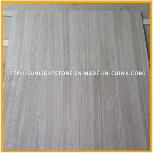 China Grey Wood /Athen Wood Stone Marble for Bathroom and Kitchen Flooring pictures & photos