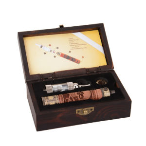 2015 Stock Offer E Fire Wooden Electronic Cigarette Kit