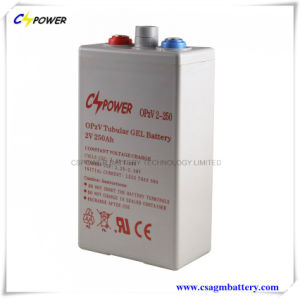 Opzv Tubular Gel Battery 2V250ah for Solar Power Systems Opzv2-250 pictures & photos