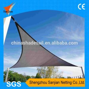 100% New HDPE Fabric Gray Color of Sun Shade Sail (Manufacturer)