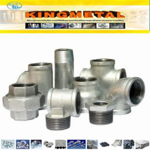 NPT Malleable Casting Black / Galvanized Iron Union Fitting pictures & photos