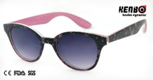 Hot Sale Fashion Sunglasses with Nice Pattern for Accessory CE, FDA, 100% UV Protection Kp50601 pictures & photos