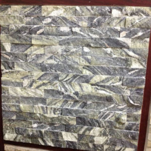 Green Grey Slate Cultured Decorative Wall Stone pictures & photos