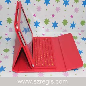 10.1-Inch Colorful Holster Bluetooth Keyboard for Samsung Tablet pictures & photos