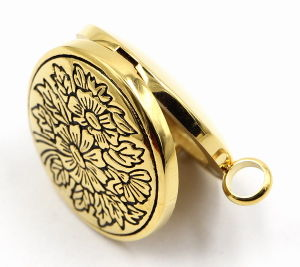 Rd Magnet Style Stainless Steel Perfume Locket Pendant pictures & photos