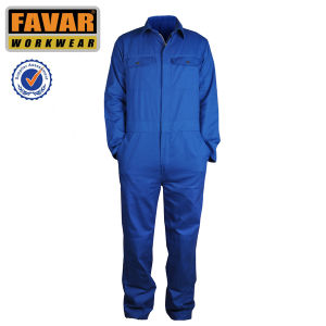 Offshore Welding Working Fire Retardant Safety Coverall for Oil and Gas Work pictures & photos