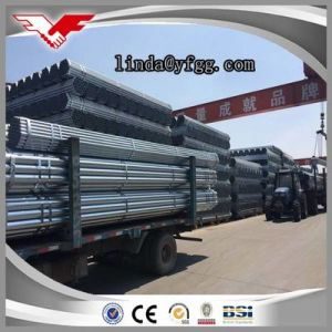 Hot Dipped Galvanized Steel Pipe Youfa Brand China Mill pictures & photos