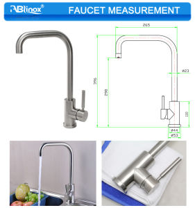 Upper Stainless Kitchen Faucet Repairs (AB105) pictures & photos