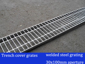 Welded Steel Grating for Trench Cover Grate pictures & photos