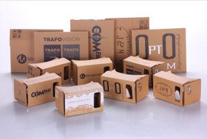 Hot Selling 3D Glasses Virtual Reality Google Cardboard Customized Printing