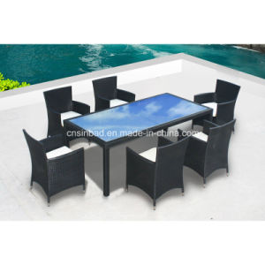Outdoor Table & Chairs for Family with SGS Certificated (8212-2) pictures & photos
