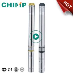 Chimp 100qjd609-0.75 Deep Well Submersible Centrifugal Water Pump 1 HP pictures & photos