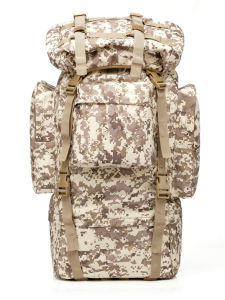 Outdoor Backpack Hiking Bag 65L Tactical Backpack of Large Capacity pictures & photos
