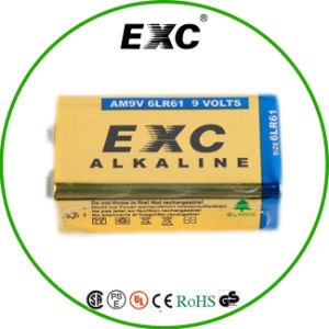 Best Sale High Quality Alkaline 9V Dry Battery 9V 6lr61 Alkaline Battery pictures & photos
