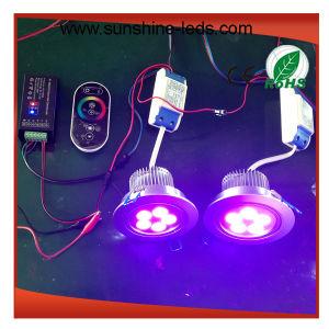 3W/9W/15W 27W/8W RGB/RGBW LED Downlight pictures & photos