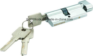 High Quality Brass/Zinc Computer Key Lock Cylinder (C3370-121 CP-291 CP) pictures & photos