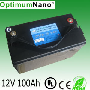 12V 100ah 24V 48V Li Battery for Solar Power System pictures & photos