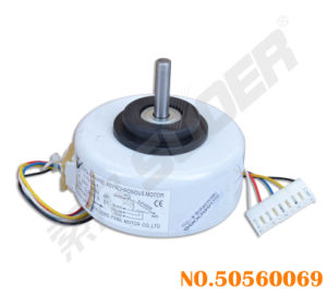 Suoer Air Conditioner Parts Best Price Plastic Package Motor with Short Shaft (50560069-(Copper)YYS13-4) pictures & photos