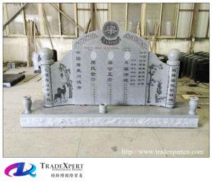 Grey Granite G633 Chinese Style Custom Monument