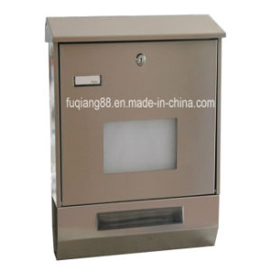 Fq-200 Typical Design Germany Mailbox with Newspaper Container pictures & photos
