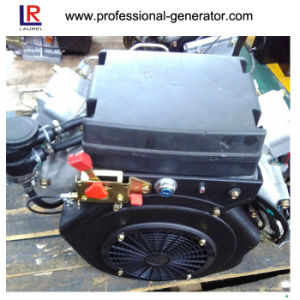 Small 22HP Twin Cylinder Diesel Engine with 4-Stroke pictures & photos