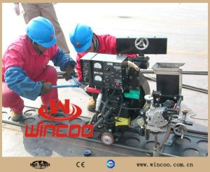 Automatic Saw Welding Machine /Tractor for Base/Bottom Plate Welding pictures & photos