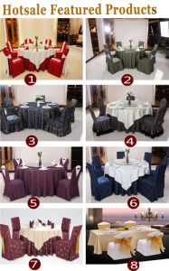 Banquet Wedding Event Decoration Table Clothes Wholesale pictures & photos