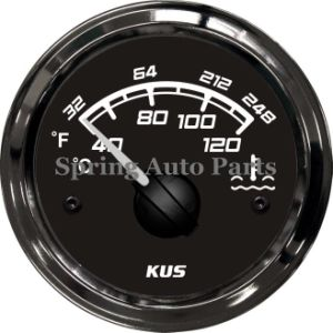 Sq 52mm Water Temperature Gauge 40-120 with Temp Sensor pictures & photos