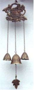 Cast Iron Hanging Decoration in Leaf Design for Garden pictures & photos