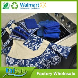 Nautical Blue Microfiber Scrub, Scour and Polish Cloths, 12X12 pictures & photos