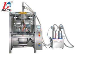 Beverage Paste Sauce Liquid Drink Filling Sealing Packing Machine with Stainless Steel with Ce
