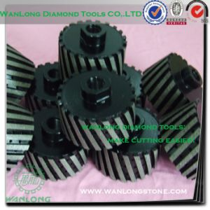 Diamond Blade Grinding Wheel for Stone Grinding-Black Diamond Grinding Wheel pictures & photos