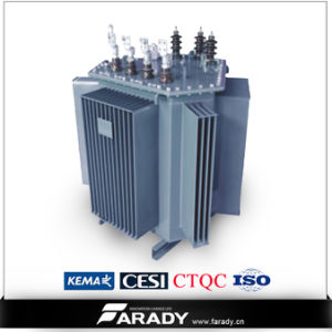 Power Distribution 3 Phase 400kVA Transformer 6.3kv to 400V pictures & photos
