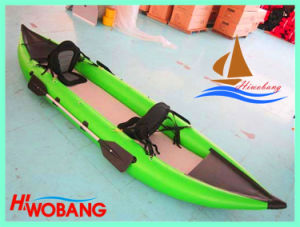 Inflatable PVC Kayak, Cheap Fishing Kayak with Drop Stitch Floor pictures & photos