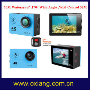 Gopro Hero3 Style 4k WiFi Sport Camera with Wrist Remote Controller pictures & photos