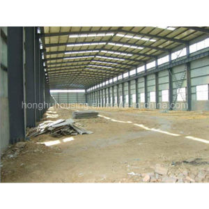 Antiseismic Blue Roof Light Steel Warehouse/Workshop pictures & photos