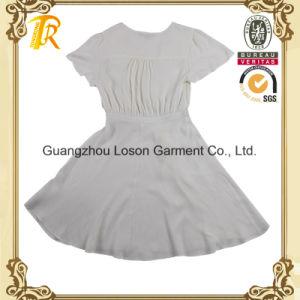 Women Fashion Clothing Ladies Woven Dress