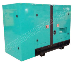 25kVA~40kVA Soundproof Japan Isuzu Diesel Engine Generator pictures & photos