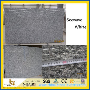 Hot Products Seawave White Granite Slabs for Stairs / Floor / Countertops pictures & photos