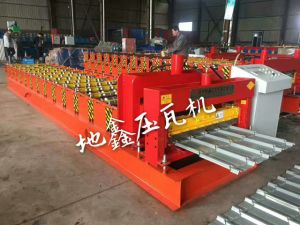 Dx 2015 Trapezoid Glazed Tile Forming Machine pictures & photos