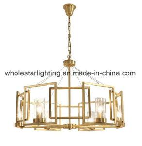 Metal Glass Chandelier (WHG-618) pictures & photos