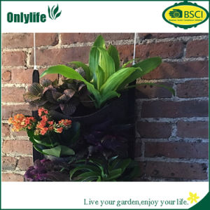 Onlylife Felt Reusable Hanging Planter with Pockets pictures & photos