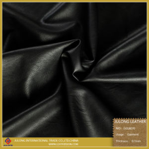 Environmental  Protection Faux  Leather  for  Garments & Garment Leather PU (G018) pictures & photos