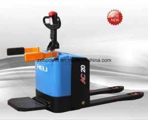 2 Ton Heli Walkie/Stand-on Electric Pallet Truck (CBD20-410) pictures & photos