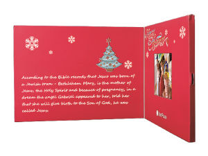 Video Greeting Card; Video Brochure pictures & photos